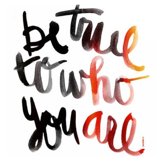 Seja você, seja original e seja feliz