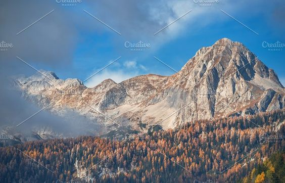 Autumn in the mountains by Dreamy Pixel on @creativemarket