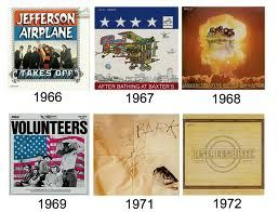 Jefferson Airplane albums