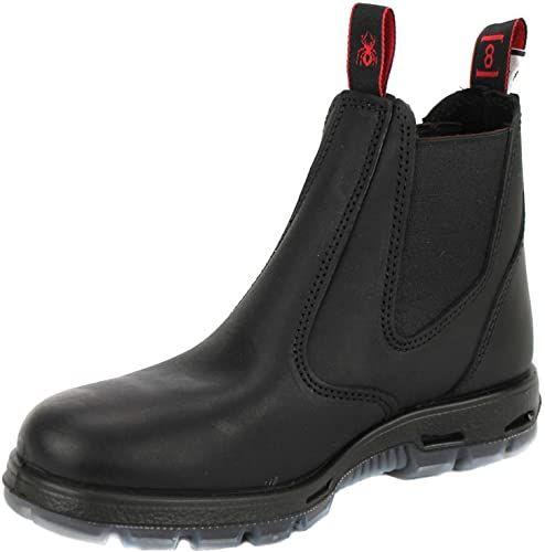 Amazing Offer On Redback Men S Work Boots Ubbk Black Easy Escape Chelsea Bobcat Slip On Non Steel Toe Size Uk8 Us9 Online Findandbuytopstyle In 2020 Leather Work Boots Mens Leather Work