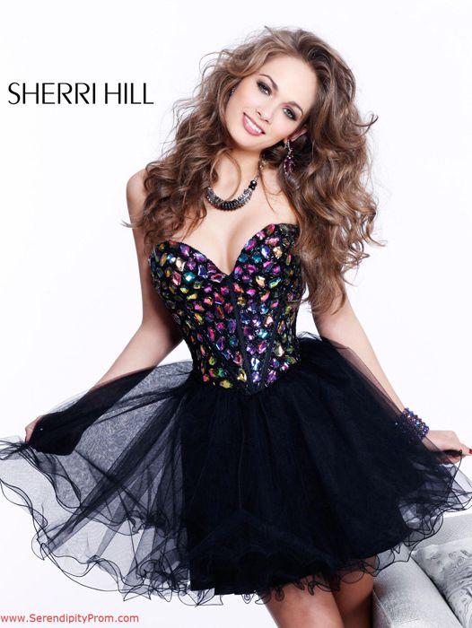 Sherri Hill cocktail dress from Serendipity $500