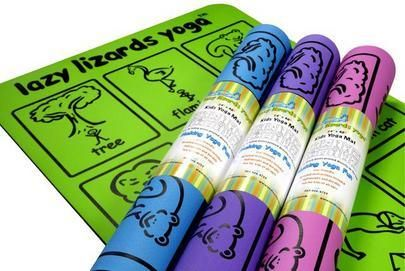 Lazy Lizards Yoga Review and Giveaway | Fit Running MamaFit Running Mama