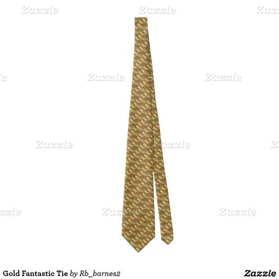 Gold Fantastic Tie