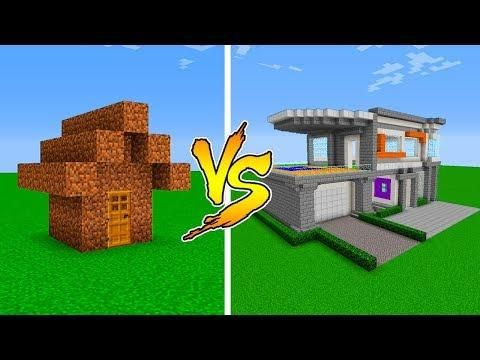 Minecraft Noob Vs Pro House Battle In Minecraft Noob Minecraft Minecraft Houses