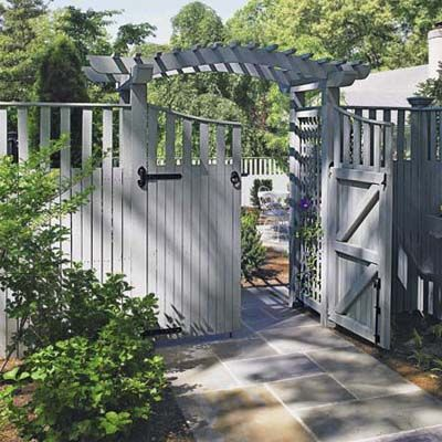 How high should your fence be? That depends on its purpose: corralling kids or pets; enclosing a pool; maintaining privacy; or controlling deer. We give you the heights for each. | Photo: Courtesy of Walpole Woodworkers | thisoldhouse.com