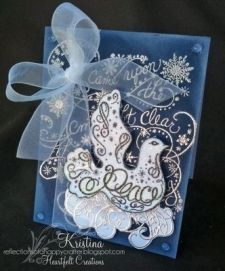 Heartfelt Creations Dove of Peace Precut Stamp set - Scrap-Mart