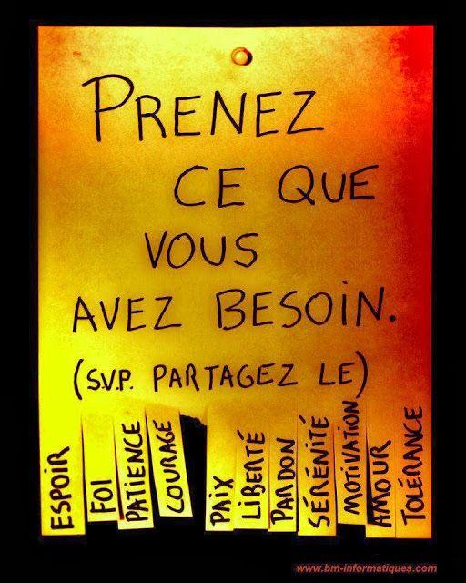 Citations et Panneaux Facebook à partager: Motivation, liberté, tolérance, servez-vous !