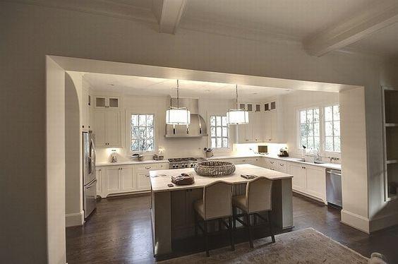Best U Shaped Kitchen White Shaker Kitchen And Shaker Kitchen 400 x 300