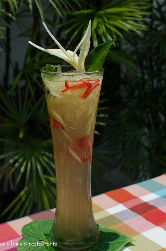 vodka, malibu rum, homemade mint syrup, fresh lemongrass, kaffir lime ...
