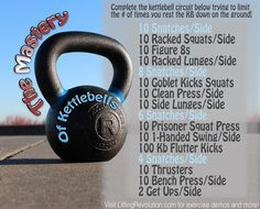 A fun total body kettlebell workout perfect for all levels of experience! #kettlebells