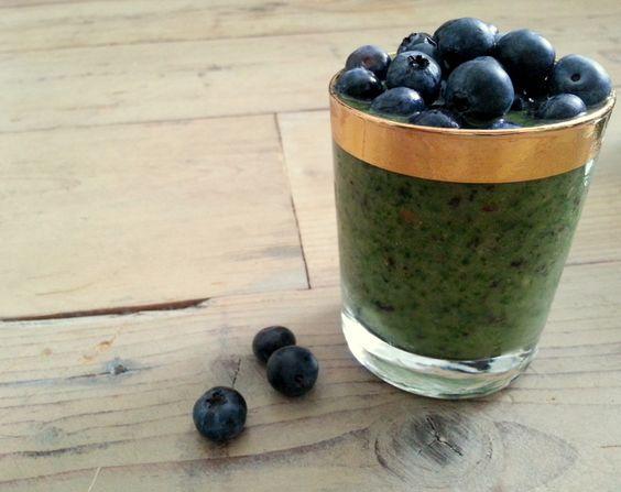 Groene smoothie; boerenkool met blauwe bes | Jouw Fabriek