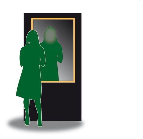 Nàrkissos (2011/12)  Mithilfe einer Echtzeit-Raumkamera wird die Umgebung in einem Spiegel projiziert, in den die BesucherInnen blicken. Ein Facetracking-System erkennt die Personen, macht ihre Gesichter jedoch gleichzeitig unkenntlich. Hinterfragt wird ein zunehmender Individualismus sowie die Konstruktion Realität im Allgemeinen. Die Installation möchte einen reflektierten Blick auf den Rezipienten selbst wagen. Studenten der HfG, Karlsruhe