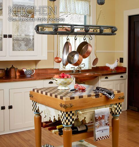 Mackenzie Childs Kitchen For Your Home Pinterest