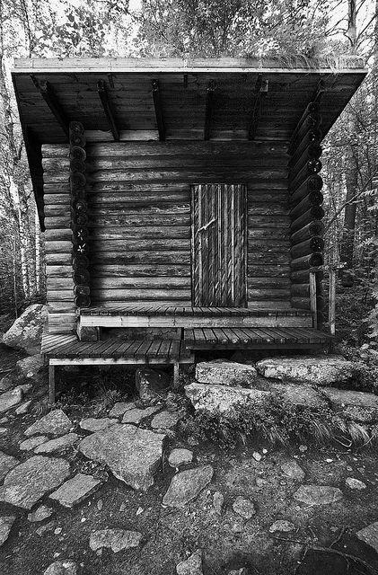 Alvar Aalto Smoke Sauna | black & gray
