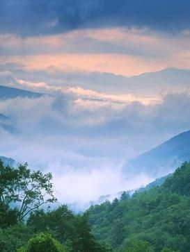 Gorgeous Smoky Mountains near Pigeon Forge, Tennessee