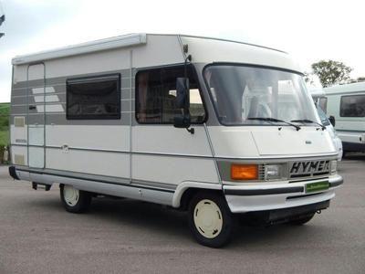 1992 HYMER 544 HYMERMOBIL Diesel in Totnes