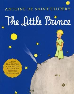 The Little Prince, Antoine deSaint-Exupery, Brunswick Library Dec. 2016. #MedinaLibrary #BookClubBooks #AntoinedeSaintExupery