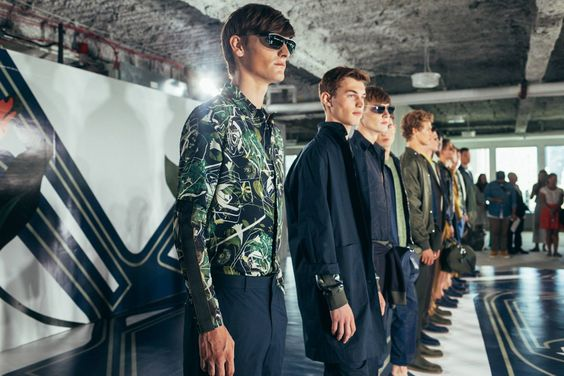 Perry Ellis Spring Summer 2017 Collection
