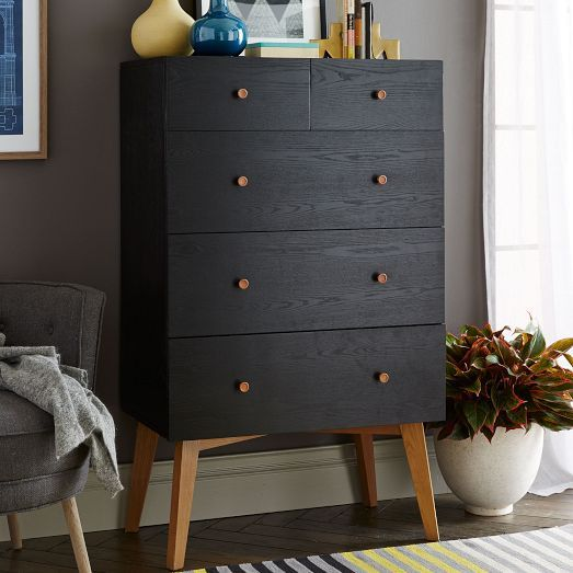 Turn Your Malm Ikea Dresser Into This West Elm Mid Century