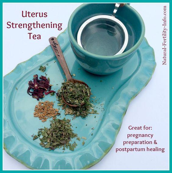 Herbs for uterine health