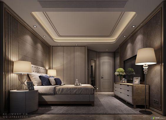コープ照明 コファー照明 寝室 コーディネート例 ラグジュアリー ホテルライク