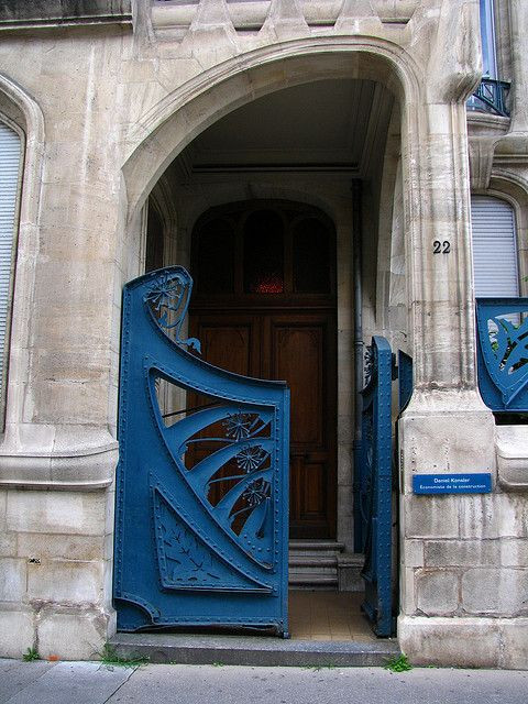 Art Nouveau house, Immeuble Biet (1901), Nancy, France