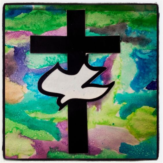 Classroom Prayer Ideas ~ Art project using water colors and salt the of