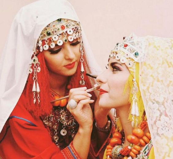"moroccan-kaftan: "" Amazigh women """