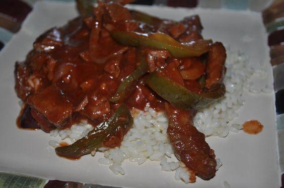 Beths Favorite Recipes: Crock Pot Pepper Steak
