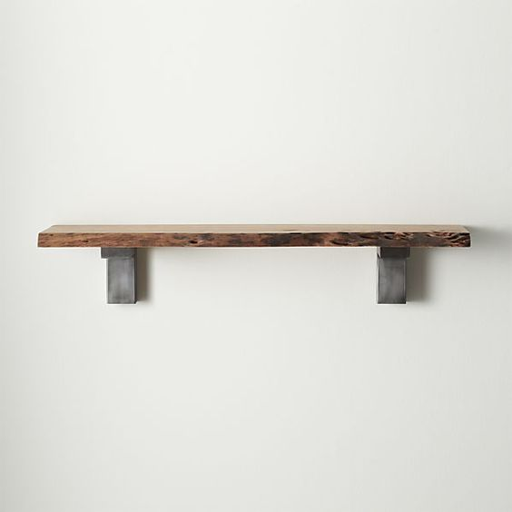 Crate And Barrel Kids Furniture #31: For The Kids Bathroom Salton Wall Shelf   Crate And Barrel
