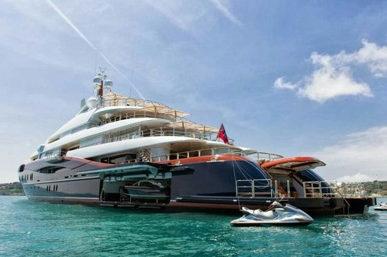 Where Do Billionaires Vacation? 7. Superyacht Nirvana.