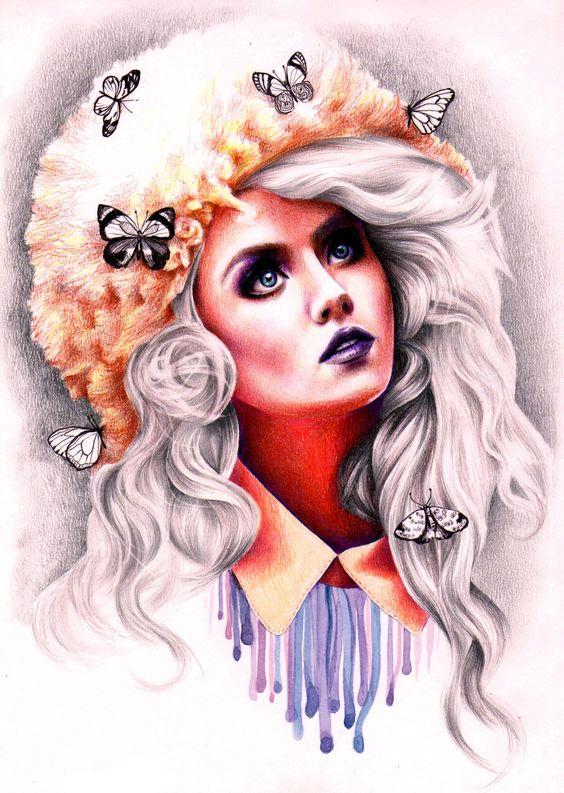 Allison Elizabeth Harvard by Kate Powell Art