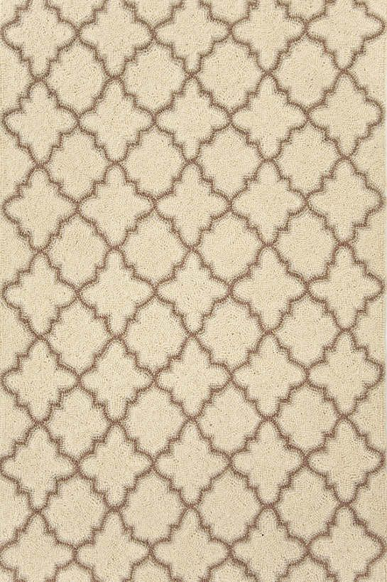 Plain Tin Ivory Micro Hooked Wool Rug The Outlet Dash Albert