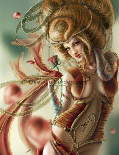 Aphrodite by JenniferHealy.deviantart.com on @deviantART