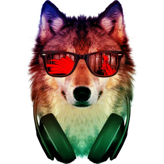 HIPPIE WOLF is a T Shirt designed by alchemist to illustrate your life and is available at Design By Humans