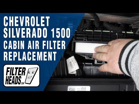 Pin On Chevrolet Cabin Air Filter Replacement Videos