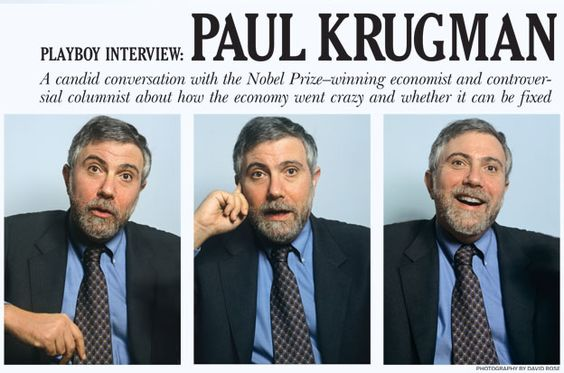 Playboy Interview: Paul Krugman