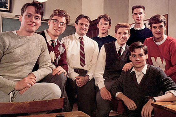 The cast of Dead Poet's Society 1989