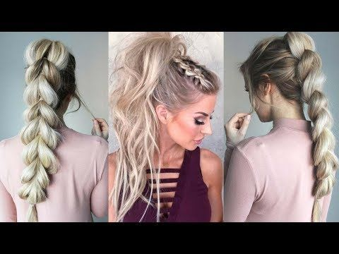 Cute And Easy Ponytail Hairstyle For School School Hairstyles Braidsandstyles12 Youtube Gir Ponytail Hairstyles Easy Hairstyles Ponytail Hairstyles Easy
