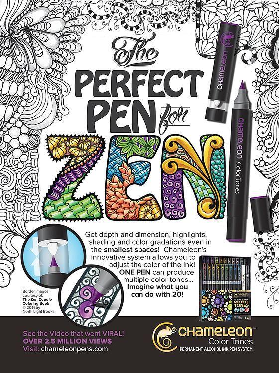 Chameleon Pens Chameleon Art Doodle Pages Chameleon