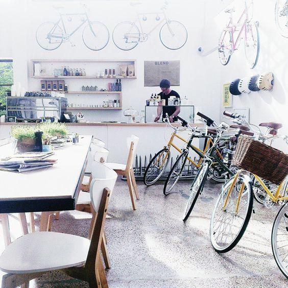 Blend - Beautiful Coffee, Bikes & Accessories, 78 Mackelvie Street, Grey Lynn, Auckland 1021, New Zealand - Townske
