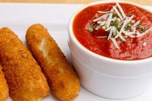 Better-than-fried Mozzarella Sticks