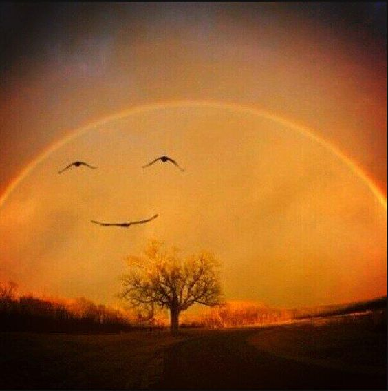 Sonrisa y feliz día