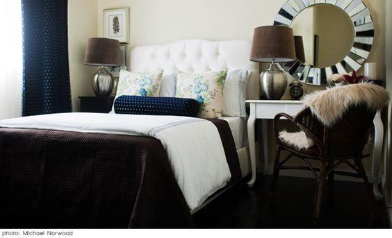 guest bedroom: brynn alexandra interiors