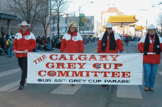 our volunteers at the parade.....