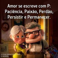 Amor se escreve com p: paciência, paixão, perdão, persistir…