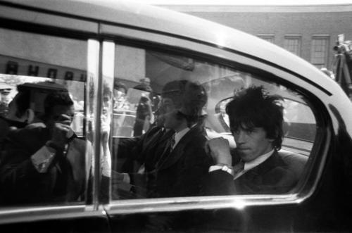 Keith and Mick, 1967.