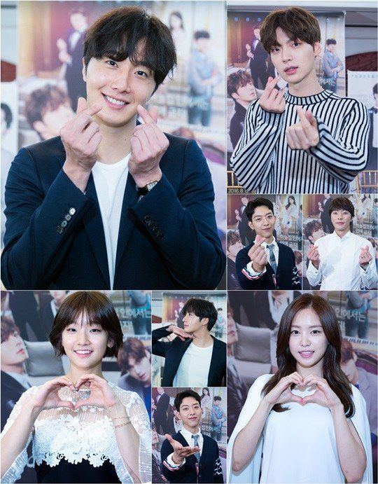 """""""Cinderella and the Four Knights"""" Jeong Il-woo, Ahn Jae-hyeon and others encouraging people to watch the drama"""