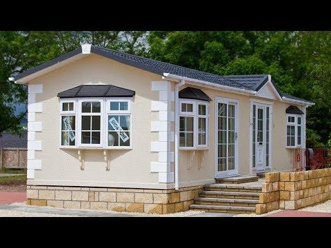 Gorgeous Beautiful Static Caravan Chalet Lodge 40 X 14 X 2 Bed Youtube Tiny House Big Living Tiny House Beautiful Small Homes
