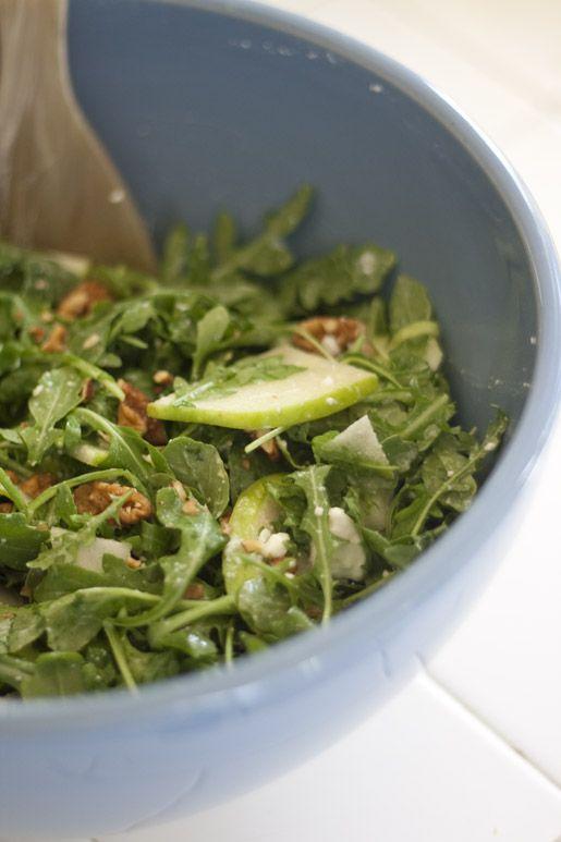 Apple & Arugula Salad...: